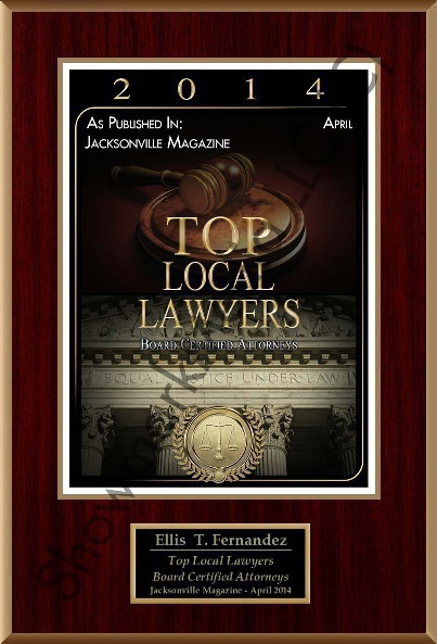 Top Local Lawyers in Jacksonville, 2014