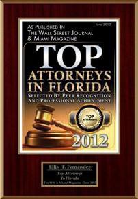 Top Attorneys in Florida, 2012