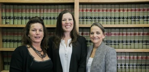 Group Photo of Ruth Wisecarver, Melissa Hunter and Maryanne Durden