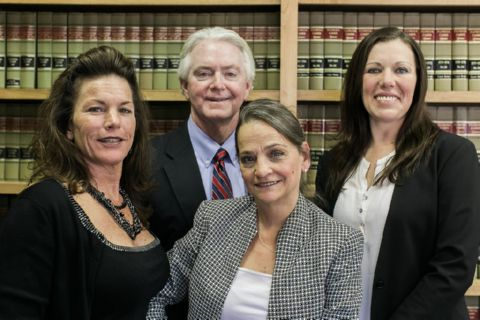 Group Photo of Ellis Fernandez, III, Ruth Wisecarver, Melissa Hunter and Maryanne Durden