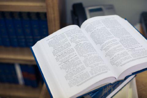 Close-Up of a Book, Alternate View